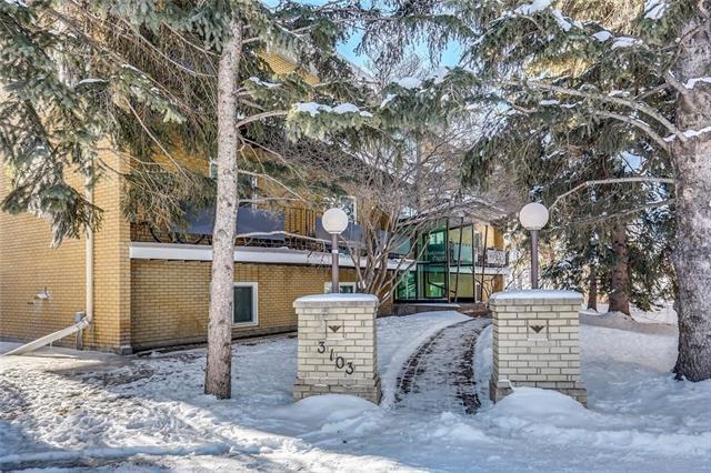 3103 Blakiston Drive NW #302, Calgary, AB T2L 1L7 (#C4171681) :: Canmore & Banff