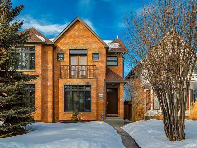 2018 3 Avenue NW, Calgary, AB T2N 0K2 (#C4171753) :: Canmore & Banff