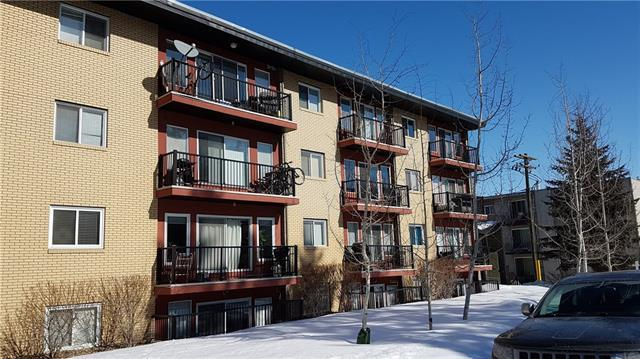 1424 22 Avenue SW #405, Calgary, AB T2T 0R5 (#C4171888) :: Canmore & Banff