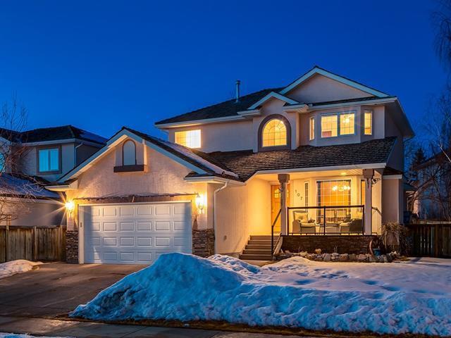 107 West Terrace Crescent, Cochrane, AB T4C 1R9 (#C4171962) :: Canmore & Banff
