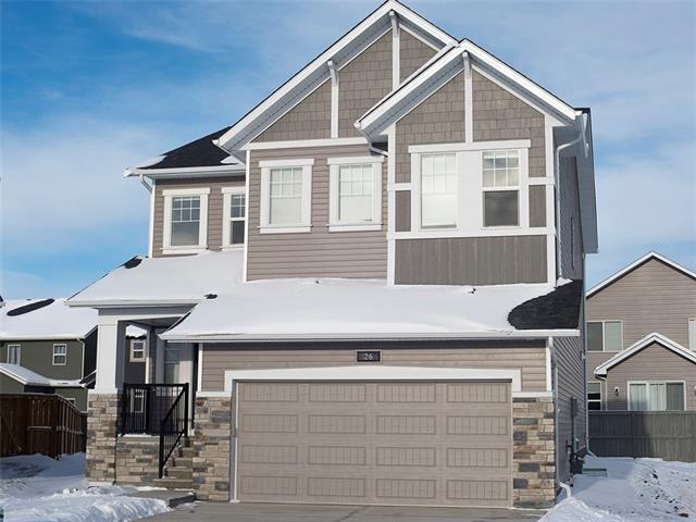 26 Bayside Parade SW, Airdrie, AB T4B 3W7 (#C4172001) :: Canmore & Banff