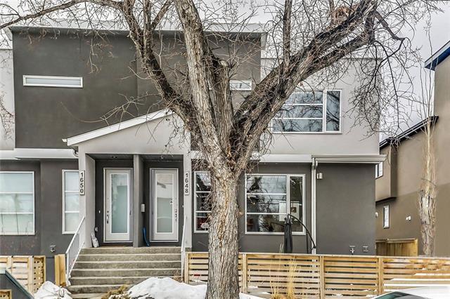 1648 Acton Avenue SW, Calgary, AB T2T 2P9 (#C4172165) :: Canmore & Banff