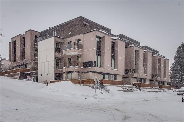 2905 16 Street SW #403, Calgary, AB T2T 4G5 (#C4172171) :: Canmore & Banff