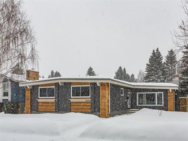 7031 61 Avenue NW, Calgary, AB T3B 3H7 (#C4172190) :: Canmore & Banff