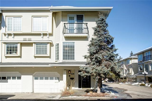 3437 42 Street NW #124, Calgary, AB T3A 2M7 (#C4172234) :: Canmore & Banff