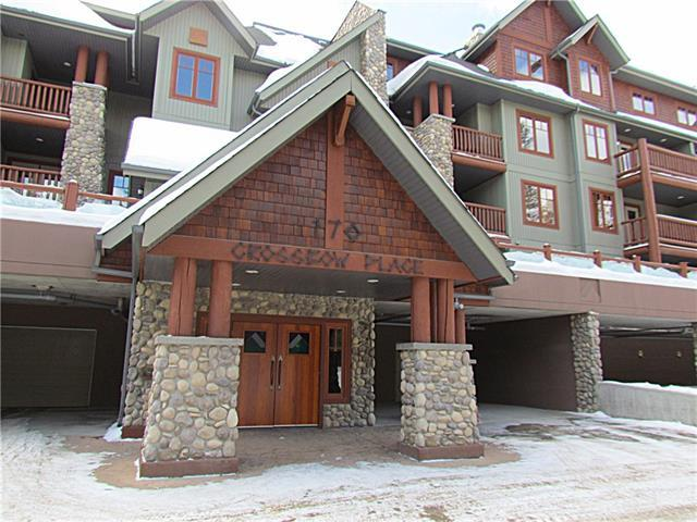 170 Crossbow Place #313, Canmore, AB T1W 3H4 (#C4172903) :: Canmore & Banff