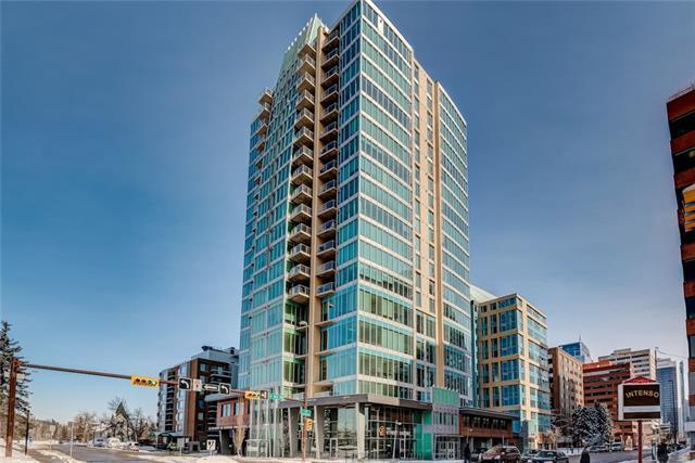 888 4 Avenue SW #804, Calgary, AB T2P 0V2 (#C4173194) :: Canmore & Banff