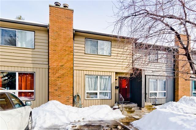 9908 Bonaventure Drive SE #12, Calgary, AB T2J 5E3 (#C4173285) :: Canmore & Banff