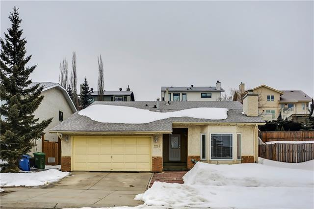 224 Hawksbrow Drive NW, Calgary, AB T3G 3K2 (#C4173304) :: Canmore & Banff