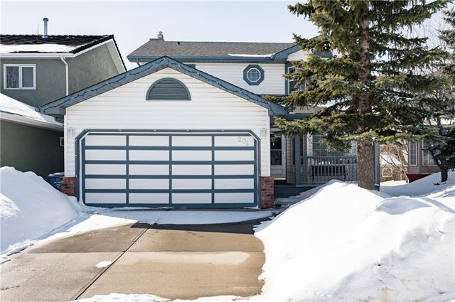 204 Hawkmount Close NW, Calgary, AB T3G 3Z6 (#C4173322) :: Canmore & Banff