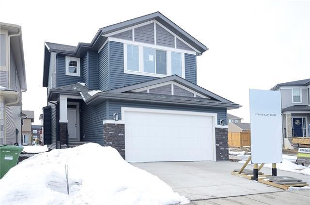 57 Sage Bluff Close NW, Calgary, AB T3R 0X6 (#C4173485) :: Canmore & Banff
