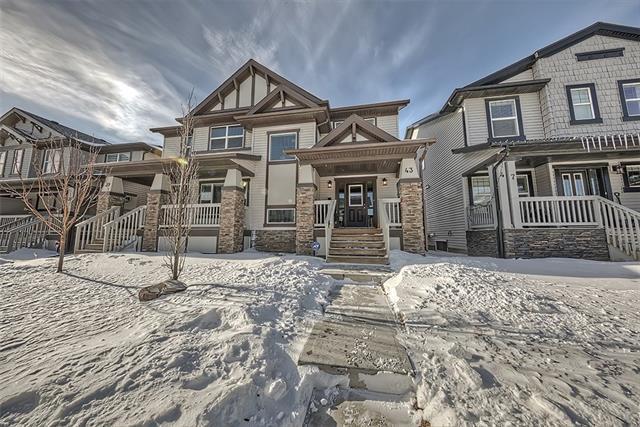 43 Skyview Ranch Lane NE, Calgary, AB T3N 0L9 (#C4173514) :: Canmore & Banff