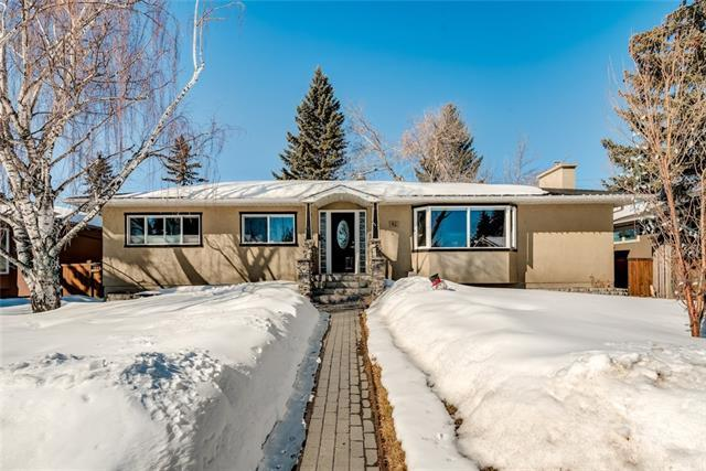 41 Mackay Drive SW, Calgary, AB T2V 2A4 (#C4173534) :: Canmore & Banff