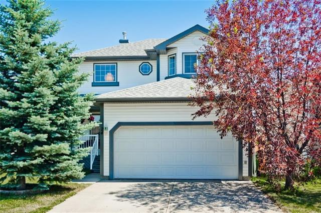 24 Creek Gardens Close NW, Airdrie, AB T4B 2P8 (#C4173810) :: Canmore & Banff