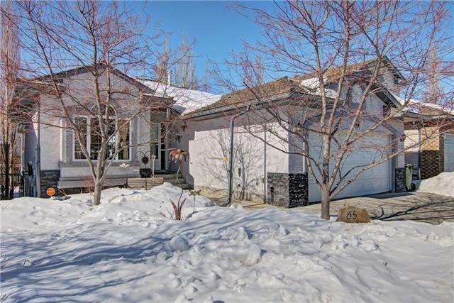 65 Bow Ridge Crescent, Cochrane, AB T4C 1T9 (#C4174732) :: Canmore & Banff