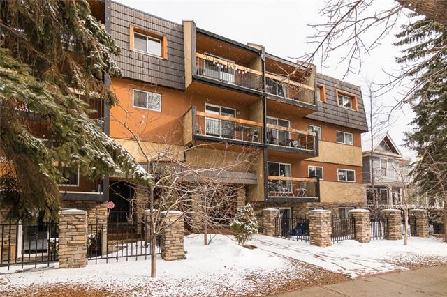 1530 16 Avenue SW #301, Calgary, AB T3C 0Z8 (#C4175491) :: Canmore & Banff