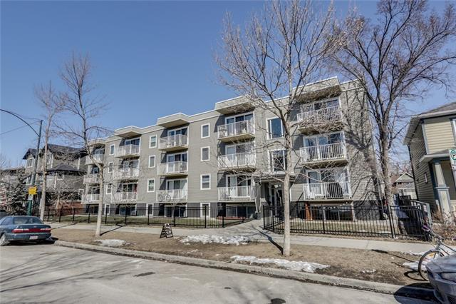 1626 14 Avenue SW #107, Calgary, AB T3C 0W5 (#C4176078) :: Redline Real Estate Group Inc