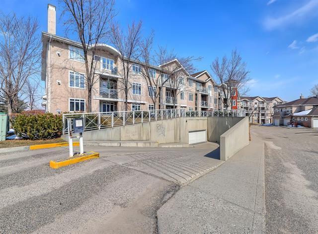 40 Parkridge View SE #415, Calgary, AB T2J 7G6 (#C4176110) :: Redline Real Estate Group Inc