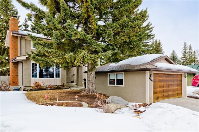 10007 Oakmoor Way SW, Calgary, AB T2V 4A1 (#C4176246) :: The Cliff Stevenson Group