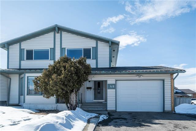 48 Whitefield Close NE, Calgary, AB T1Y 4X7 (#C4176431) :: Redline Real Estate Group Inc