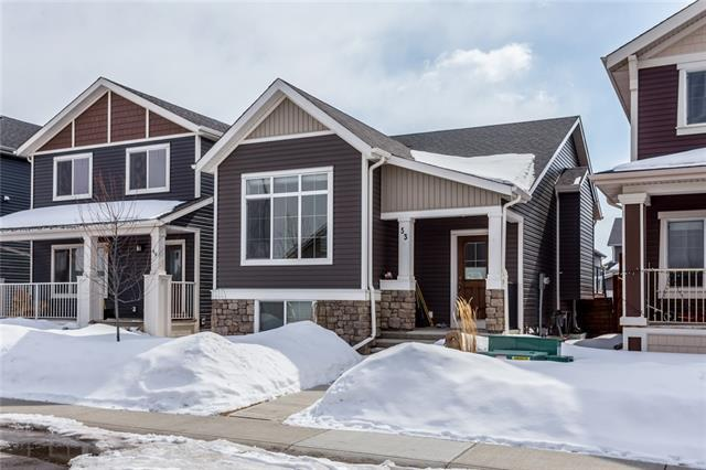 53 Fireside Bend, Cochrane, AB T4C 0V5 (#C4176629) :: The Cliff Stevenson Group