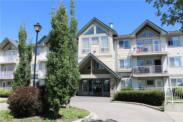 7 Harvest Gold Manor NE #211, Calgary, AB T3K 4Y3 (#C4176971) :: Redline Real Estate Group Inc