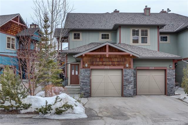 70 Dyrgas Gate #202, Canmore, AB T1W 3J6 (#C4177051) :: Redline Real Estate Group Inc