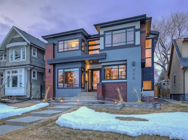 416 49 Avenue SW, Calgary, AB T2S 1G2 (#C4177088) :: Canmore & Banff