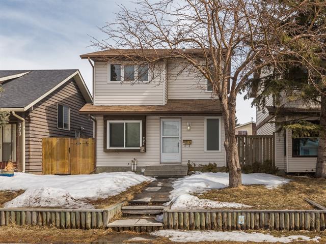 327 Abinger Crescent NE, Calgary, AB T2A 6L2 (#C4177221) :: Canmore & Banff