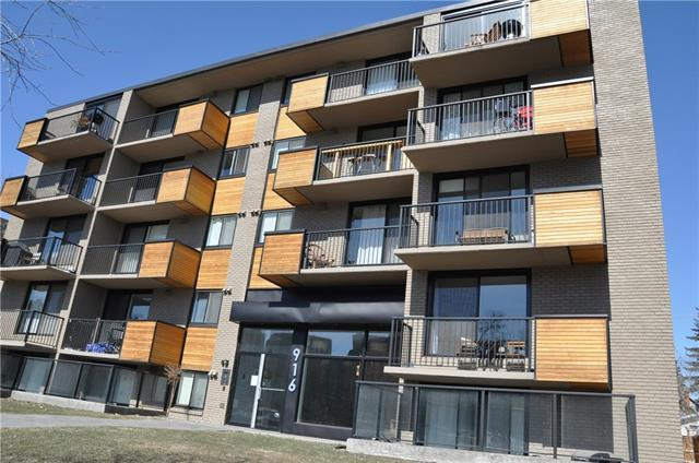 916 Memorial Drive NW #506, Calgary, AB T2N 3C9 (#C4177254) :: Redline Real Estate Group Inc