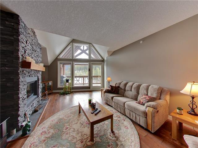 106 Stewart Creek Landing #313, Canmore, AB T1W 0G6 (#C4177310) :: Redline Real Estate Group Inc