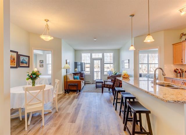1 Crystal Green Lane #319, Okotoks, AB T1S 0C5 (#C4177365) :: Your Calgary Real Estate