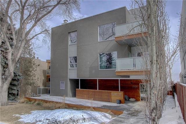 2124 17 Street SW #201, Calgary, AB T2T 4M4 (#C4177409) :: The Cliff Stevenson Group