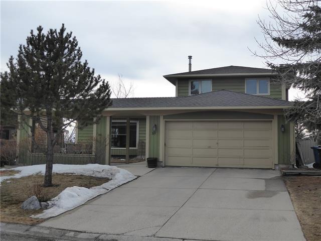 51 Ranch Estates Road NW, Calgary, AB T3G 1L4 (#C4177821) :: The Cliff Stevenson Group
