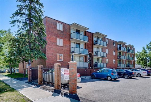 1411 7 Avenue NW #117, Calgary, AB T2N 0Z3 (#C4178133) :: Redline Real Estate Group Inc