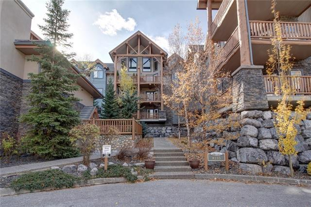 155 Crossbow Place #103, Canmore, AB T1W 3H6 (#C4178203) :: Redline Real Estate Group Inc