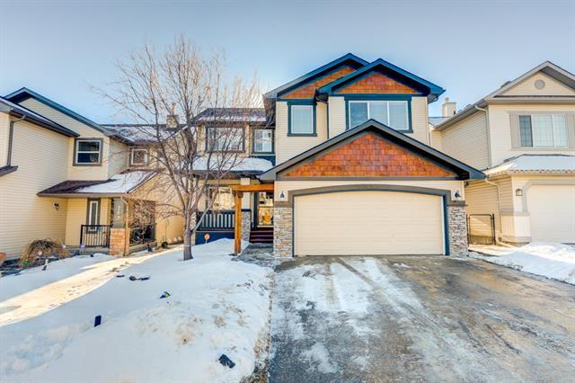 709 Fairways Green Nw, Airdrie, AB T4B 3E3 (#C4178321) :: Canmore & Banff