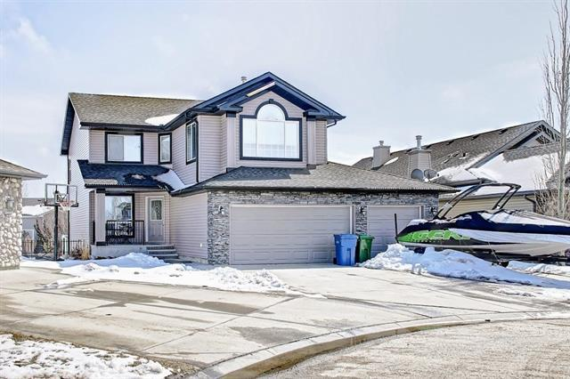 428 Rainbow Falls Way, Chestermere, AB T1X 1S6 (#C4178336) :: Canmore & Banff