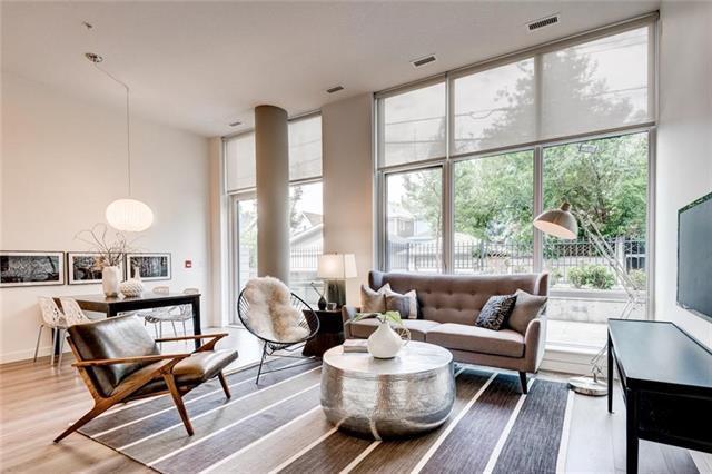 301 10 Street NW #101, Calgary, AB T2N 1V5 (#C4178353) :: Redline Real Estate Group Inc
