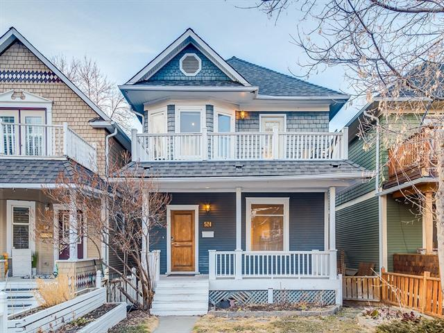 524 19 Avenue SW, Calgary, AB T2S 0E2 (#C4178361) :: Canmore & Banff