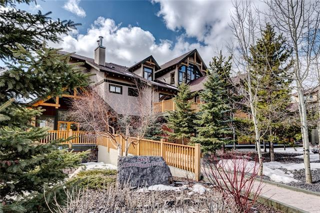 801 Benchlands Trail #203, Canmore, AB T1W 0B6 (#C4178394) :: Canmore & Banff
