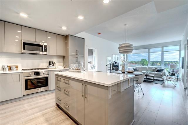 301 10 Street NW #501, Calgary, AB T2N 1V5 (#C4178396) :: Redline Real Estate Group Inc