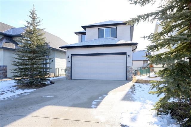 154 Bow Ridge Drive, Cochrane, AB T4C 1V7 (#C4178416) :: Canmore & Banff