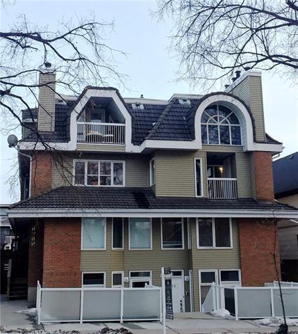 1615 13 Avenue SW #103, Calgary, AB T3C 0T8 (#C4178443) :: Canmore & Banff
