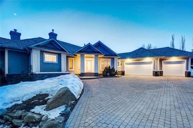 171 Slopeview Drive SW, Calgary, AB T3H 4G6 (#C4178582) :: The Cliff Stevenson Group