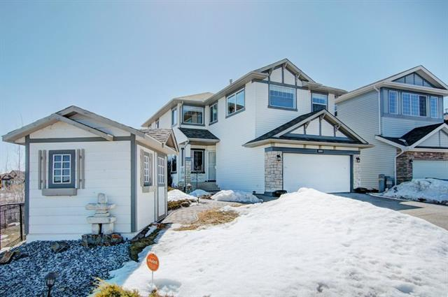 403 Chaparral Ridge Circle SE, Calgary, AB T2X 3Y1 (#C4178701) :: Redline Real Estate Group Inc