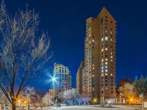 500 Eau Claire Avenue SW 1501D, Calgary, AB T2P 3R8 (#C4178712) :: Canmore & Banff