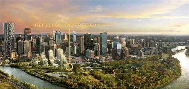 108 2 Street SW #101, Calgary, AB T2P 4V9 (#C4178725) :: Canmore & Banff