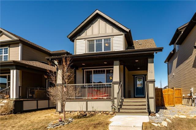 28 Sunset Link, Cochrane, AB T4C 0M1 (#C4178878) :: Your Calgary Real Estate