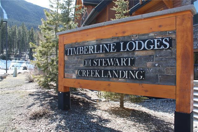 101D Stewart Creek Landing #4102, Canmore, AB T1W 0E3 (#C4179051) :: Redline Real Estate Group Inc